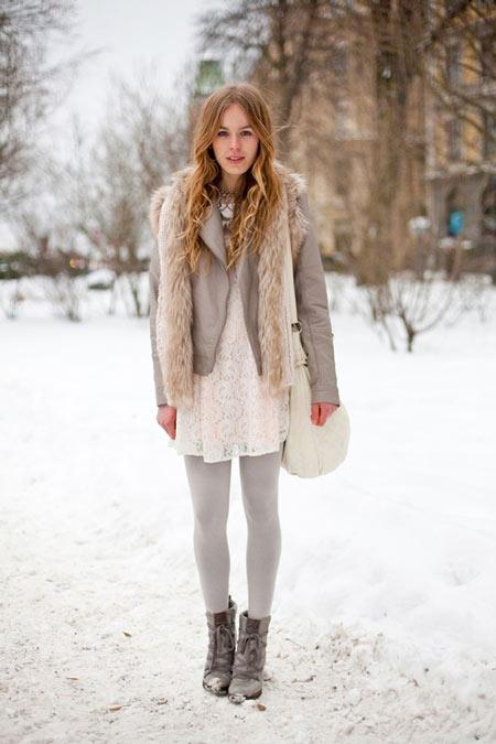 Come si vestono le donne in russia di inverno